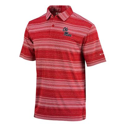 OMNI WICK SLIDE POLO RED