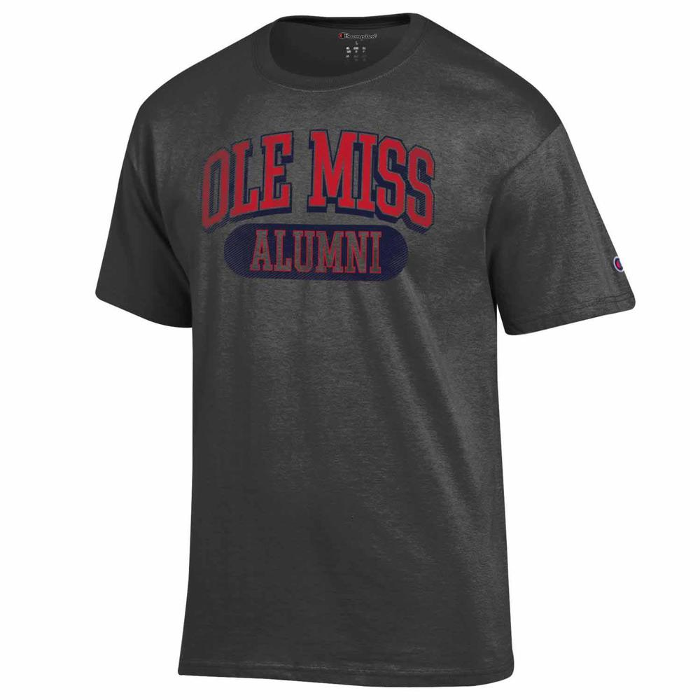 Distressed Ole Miss Alumni Ss Tee