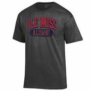 DISTRESSED OLE MISS ALUMNI SS TEE