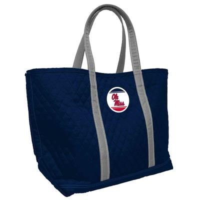 OLE MISS QUILTED MERIT TOTE