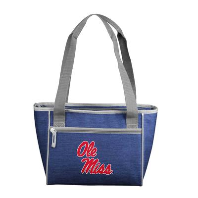 OM CROSSHATCH 16 CAN COOLER TOTE