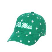 OLE MISS CHARMED WASHED ADJ CAP