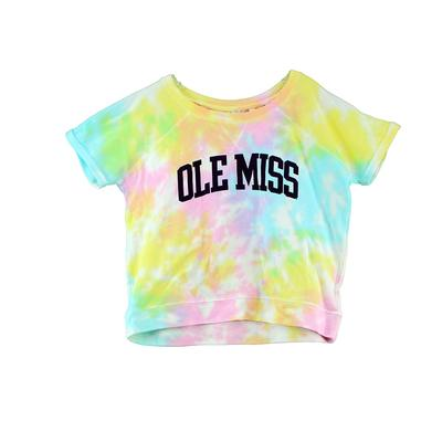 SS OLE MISS SPLASH FRENCH TERRY TEE