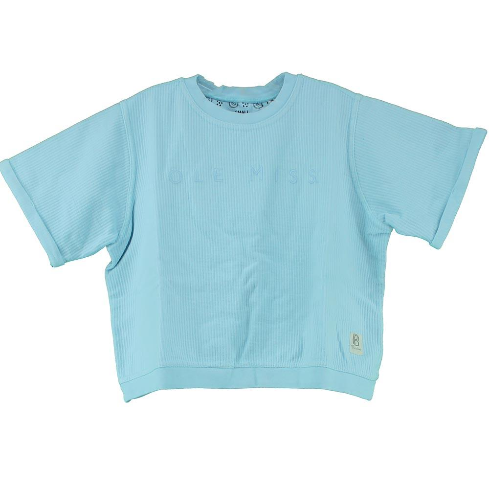 Ss Ole Miss Demsey Corded Tee