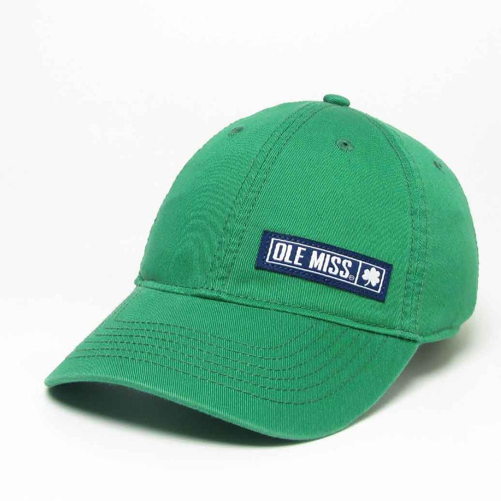 Ole Miss Shamrock Relaxed Twill