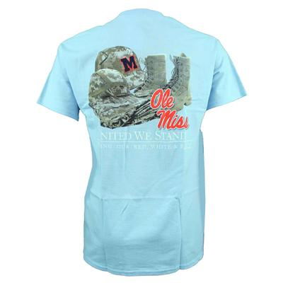 OLE MISS BASEBALL UNITED WE STAND MILITARY APPRECIATION SS TEE