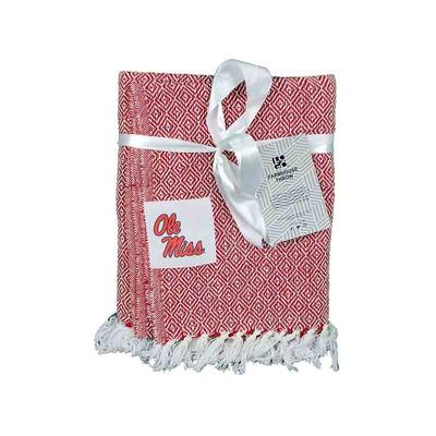 OLE MISS FARMHOUSE THROW