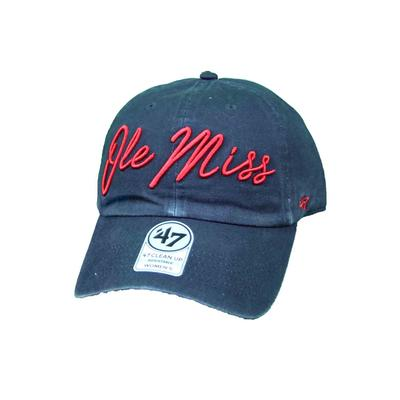 OLE MISS REBELS LYRIC CLEAN UP CAP