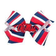KNG COLEGE PRINT BOW W PATCH