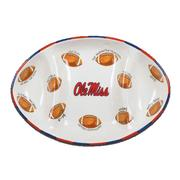 OLE MISS FOOTBALL PLATTER