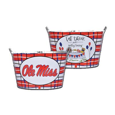 OLE MISS METAL BUCKET