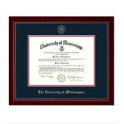 EMBOSSED SUTTON DIPLOMA FRAME