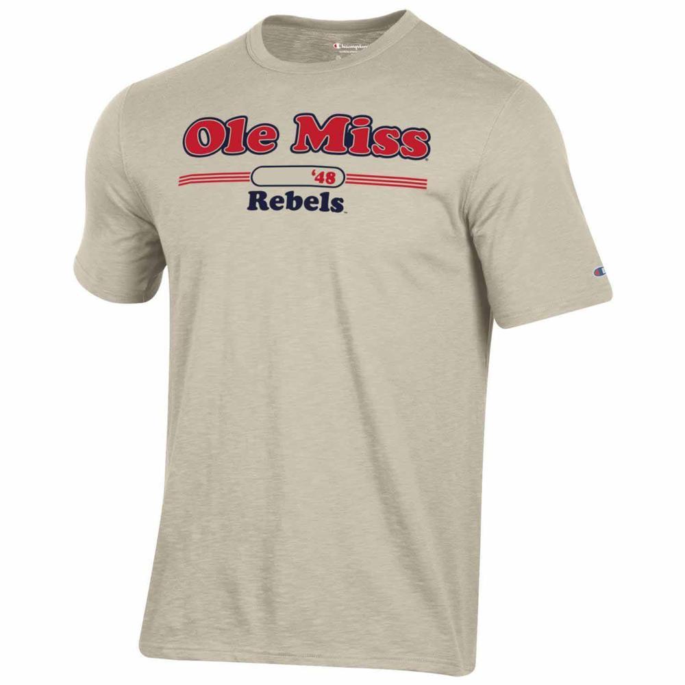 Ole Miss Rebels Rochester Ss Slub Tee