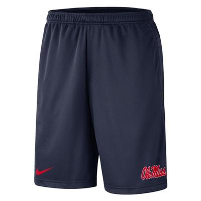 OLE MISS COACHES DRY FIT SHORT