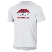 OLE MISS REBELS FOOTBALL SS TECH TEE