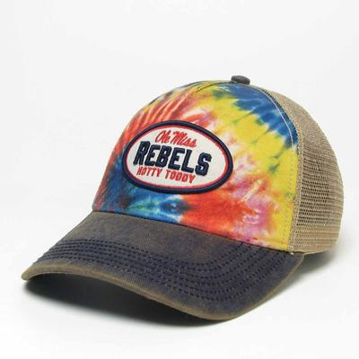 TIE DYE OLD FAVORITE STRUCTURED ADJ CAP