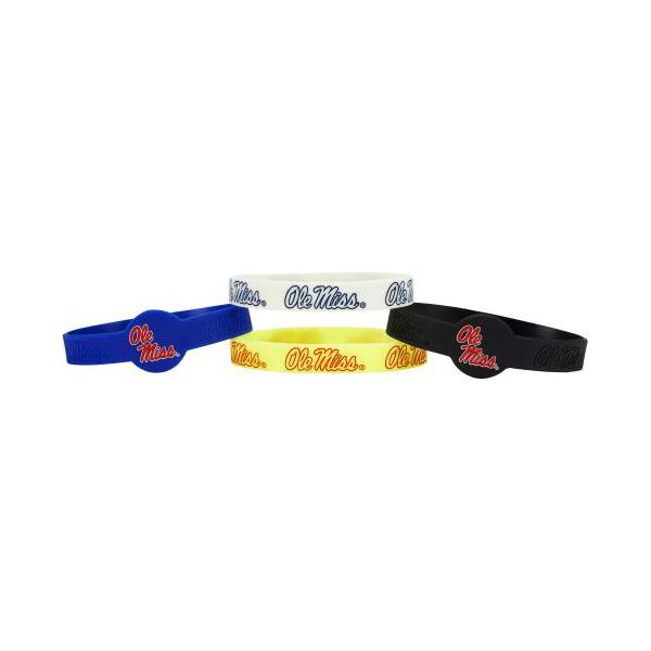 4pk Om Silicone Bracelets