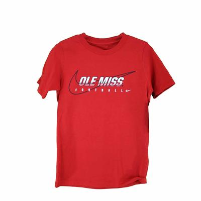 CORE OLE MISS FOOTBALL TEE