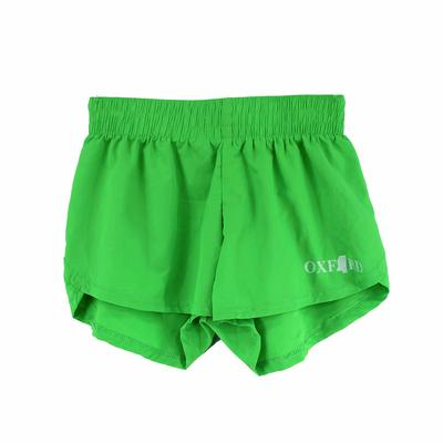 STEPH SOLID OXFORD MS SHORT NEON_GREEN