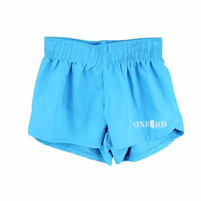 STEPH SOLID OXFORD MS SHORT TURQUOISE
