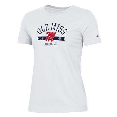 OLE MISS WOMENS UNIVERSITY 2.0 SS TEE