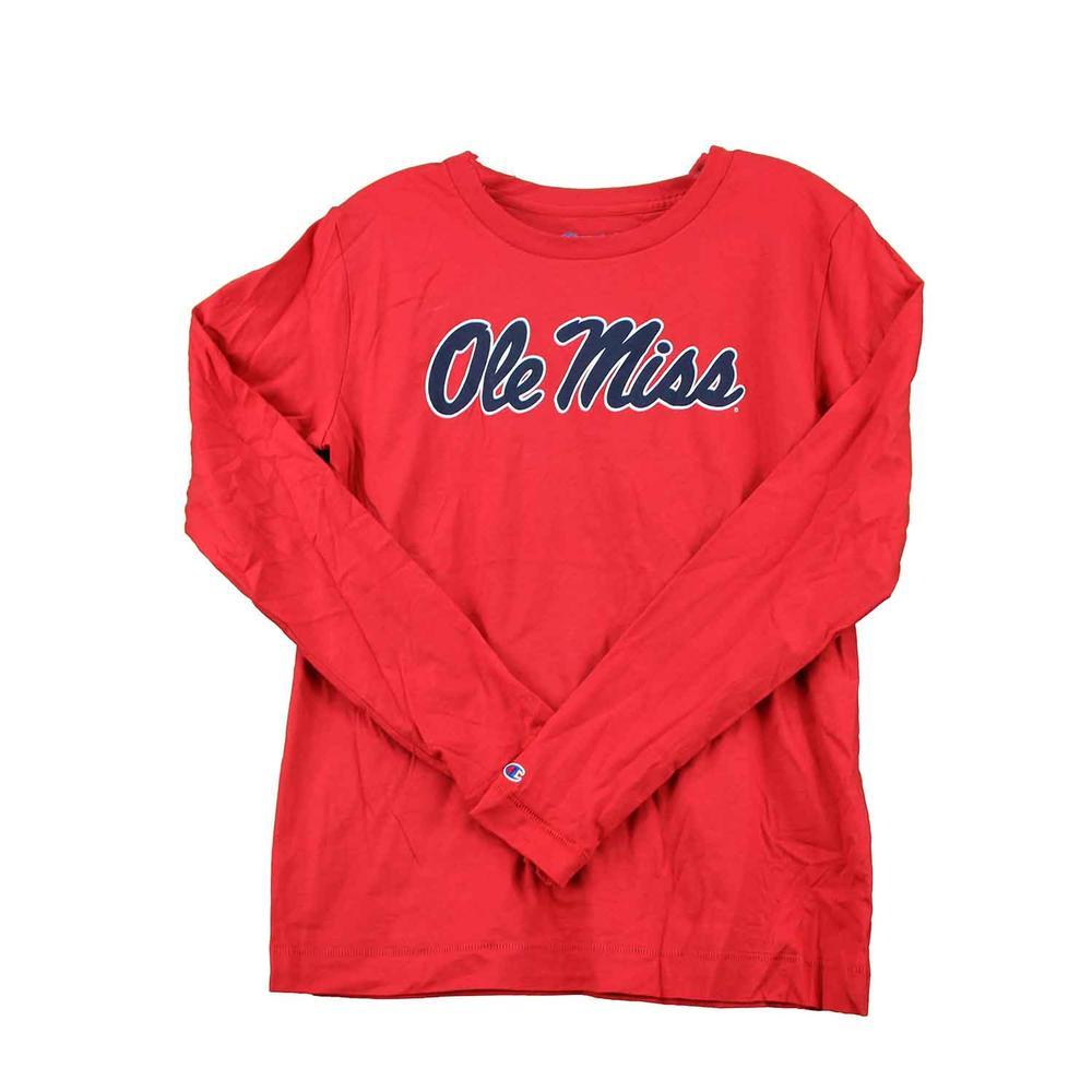 Ole Miss University 2.0 Ls Tee