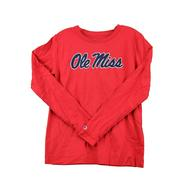 OLE MISS UNIVERSITY 2.0 LS TEE
