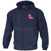 OLE MISS FULL ZIP LIGHTWEIGHT JACKET