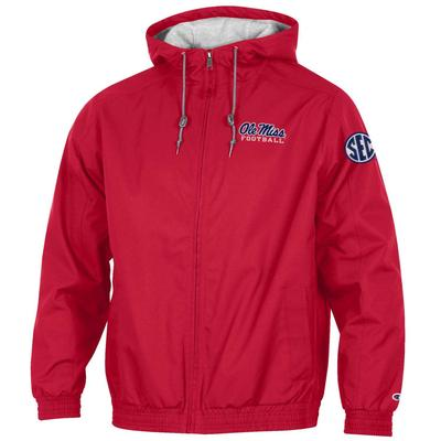 SEC OLE MISS FOOTBALL CHAMPION VICTORY FULL ZIP JACKET