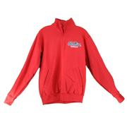 OLE MISS CHAMPION ECO POWERBLEND QTR ZIP