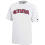 OLE MISS YOUTH SS JERSEY TEE