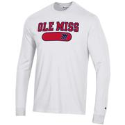 OLE MISS MENTS MTO SUPER FAN LONG SLEEVE TEE