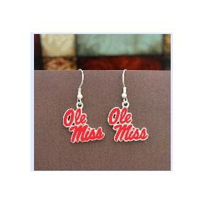 OLE MISS FANTASTIC EARRINGS