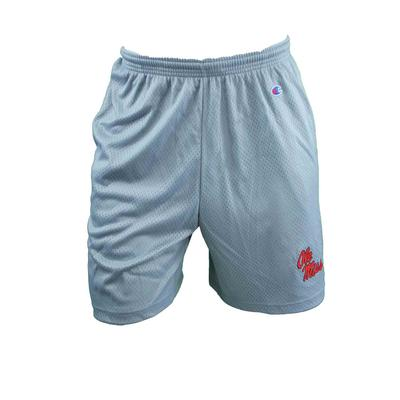 OLE MISS MESH SHORTS GRAY