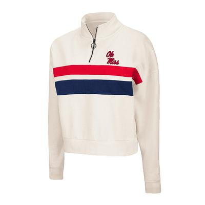 OLE MISS COOPER QTR ZIP PULLOVER