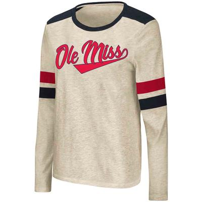 OLE MISS ITCHY BRAIN LS TEE