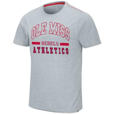 OLE MISS DUCKY SS TEE GREY