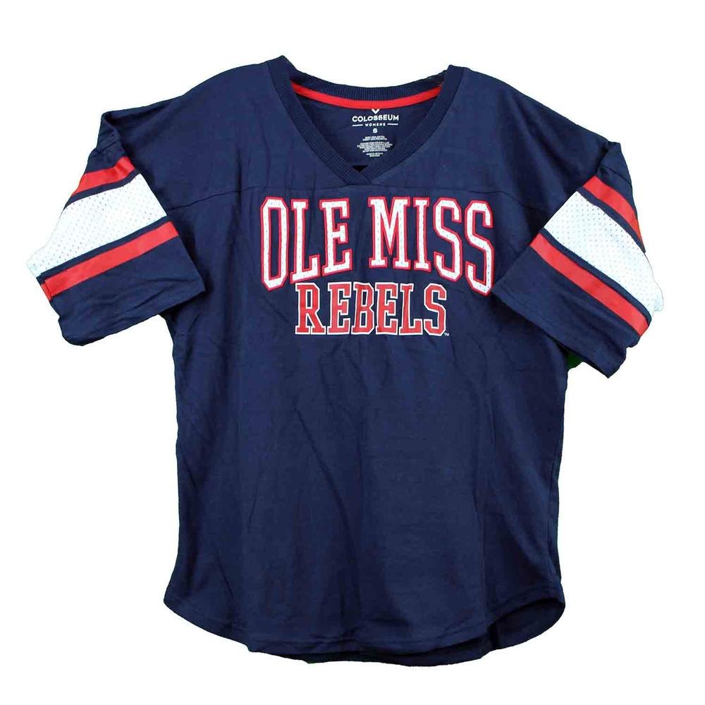Ole Miss Farrah Hockey Tee