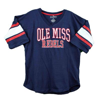OLE MISS FARRAH HOCKEY TEE NAVY