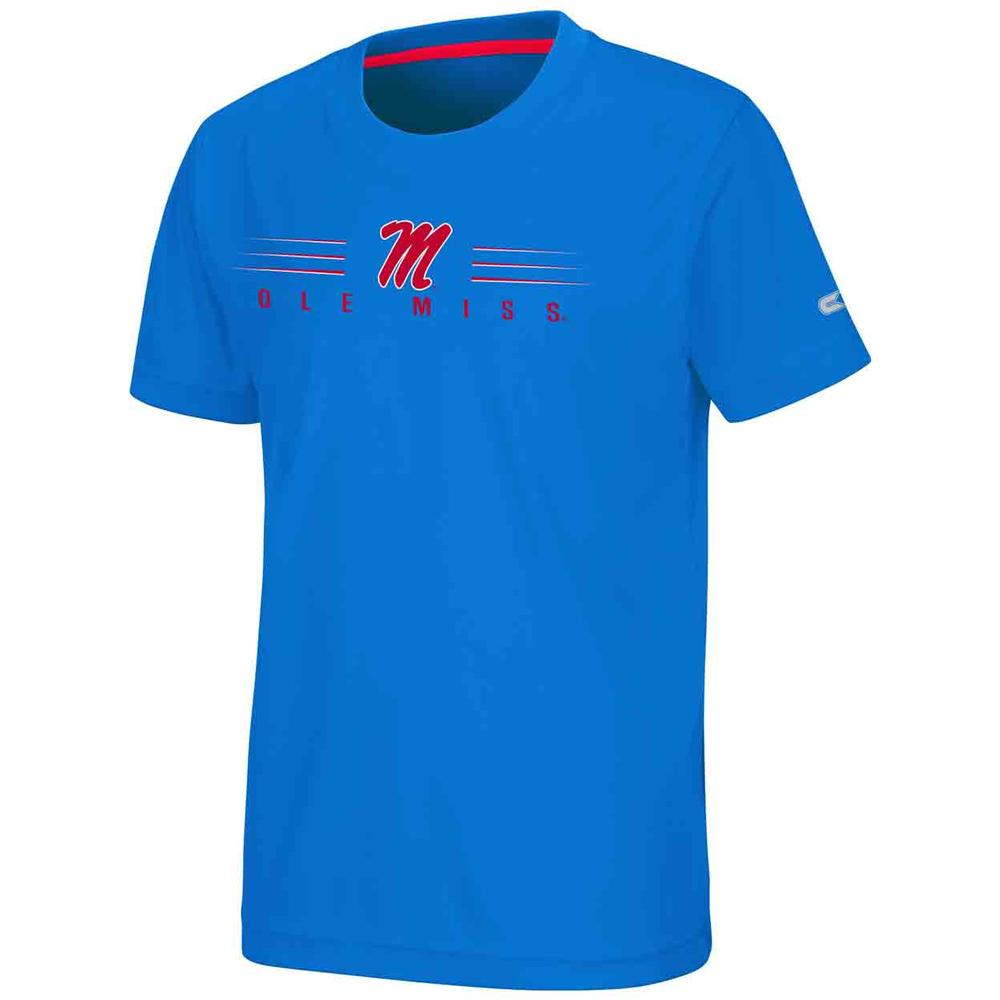 Ole Miss Fish Bowl Ss Tee
