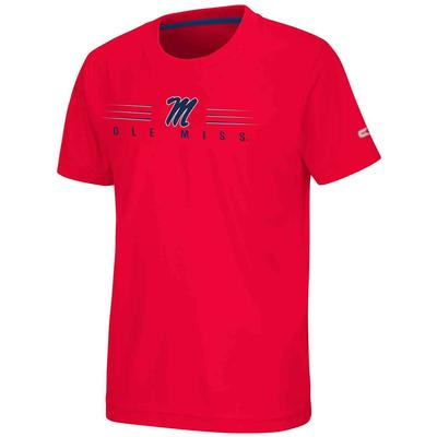 OLE MISS FISH BOWL SS TEE RED