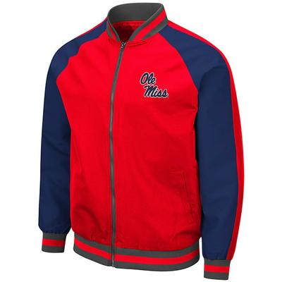 MENS KENT BOMBER JACKET RED