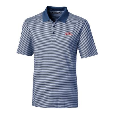 OLE MISS FORGE TONAL STRIPE BT POLO