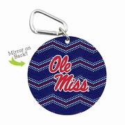 OLE MISS MINI MIRROR WITH CLIP
