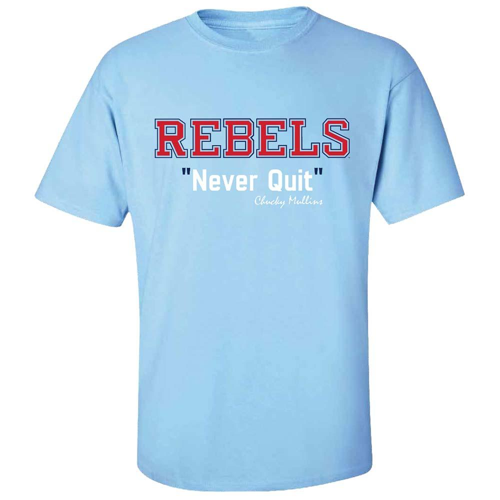 Ole Miss Never Quit Ss Tee