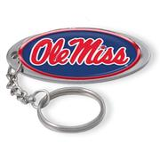 OVAL DOMED KEYCHAIN