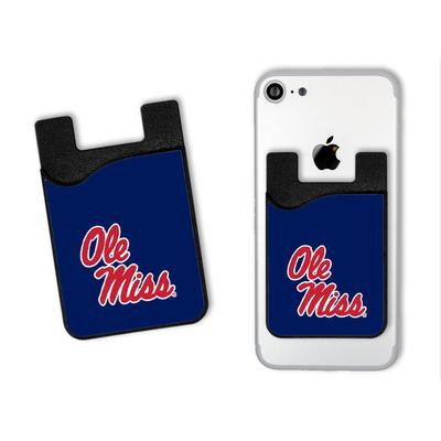 OLE MISS MEDIA CELL PHONE CARD HOLDER