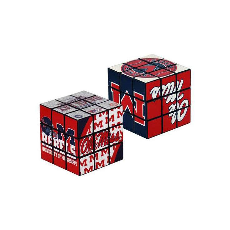 Ole Miss Toy Puzzle Cube
