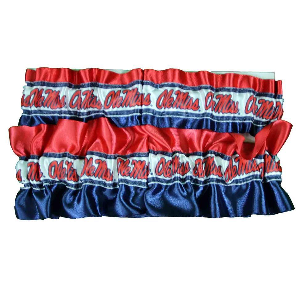 Ole Miss Keepsake Garter Set Gift Box