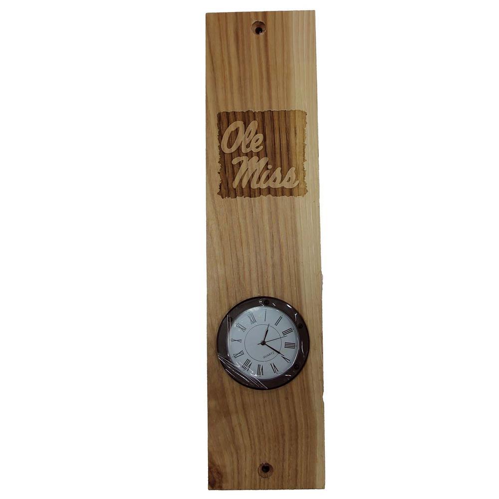 Ole Miss Clock
